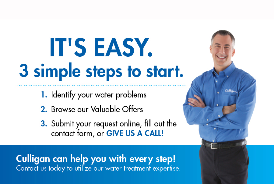 3 Simple Steps to Start with Culligan