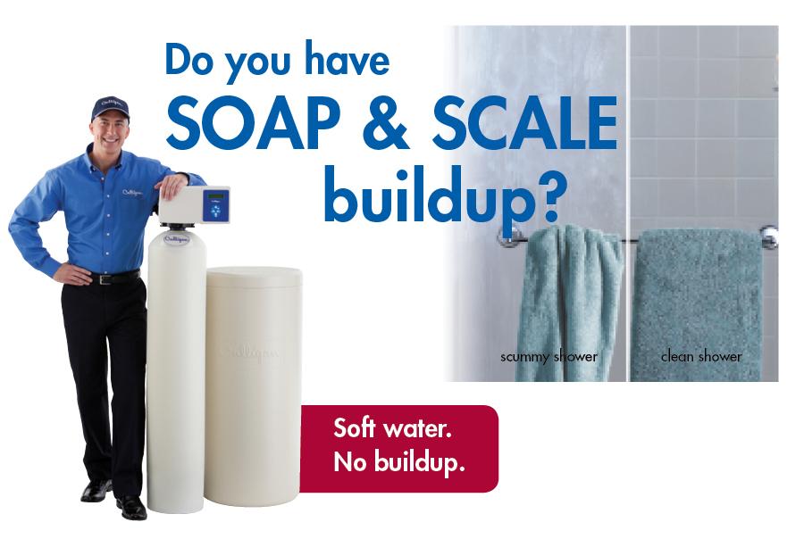 Hard Water Problems   Soap & Scale Buildup   Culligan Olivia
